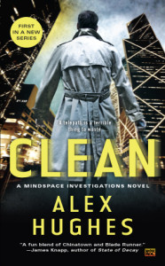 Front cover of book entitled Clean by Alex Hughes