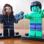 Black Widow and Hulk